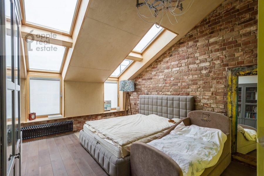 Bedroom of the 2-room apartment at Varshavskoe shosse 9s1