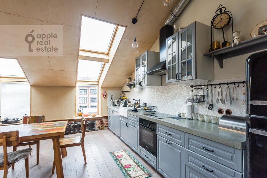 Кухня в 2-комнатной квартире по адресу Варшавское шоссе 9с1