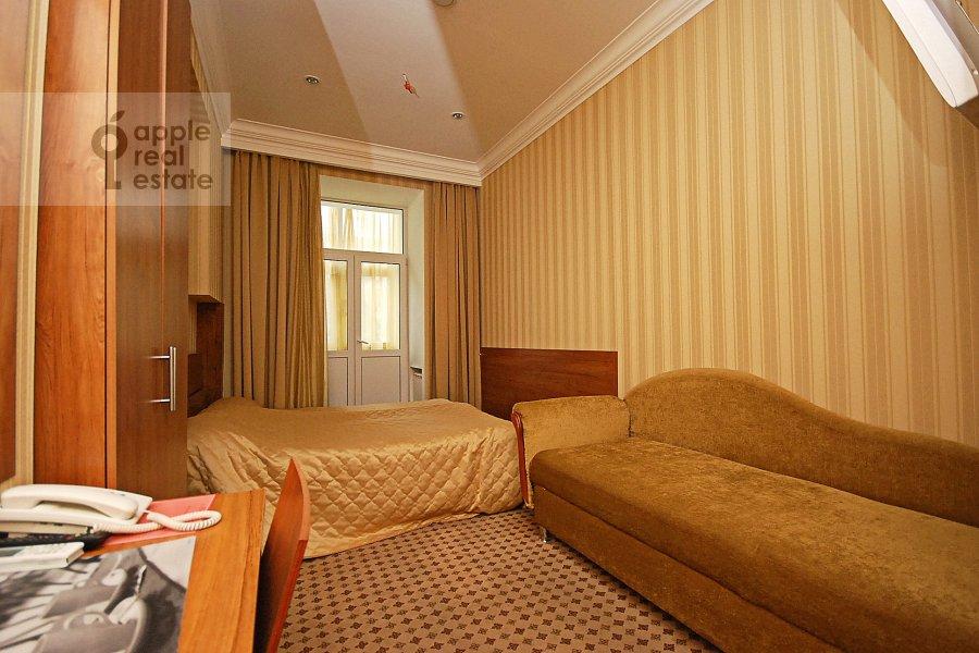Bedroom of the 2-room apartment at Kozitskiy per. 1a