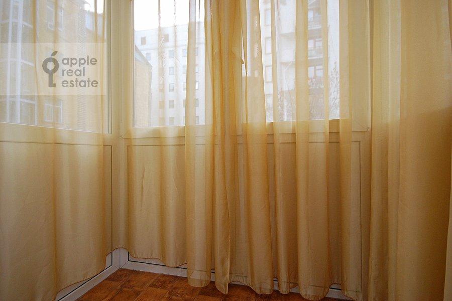 Balcony / Terrace / Loggia of the 2-room apartment at Kozitskiy per. 1a