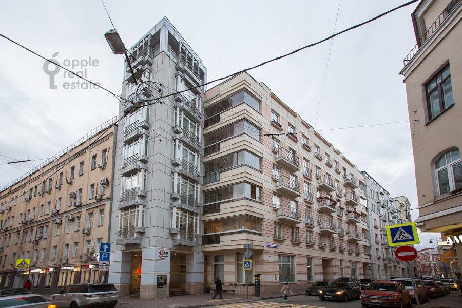 Фото дома 3-комнатной квартиры по адресу Козихинский Малый пер. 7