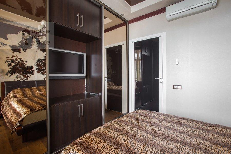 Спальня в 3-комнатной квартире по адресу Садовая-Каретная улица 4/6с1