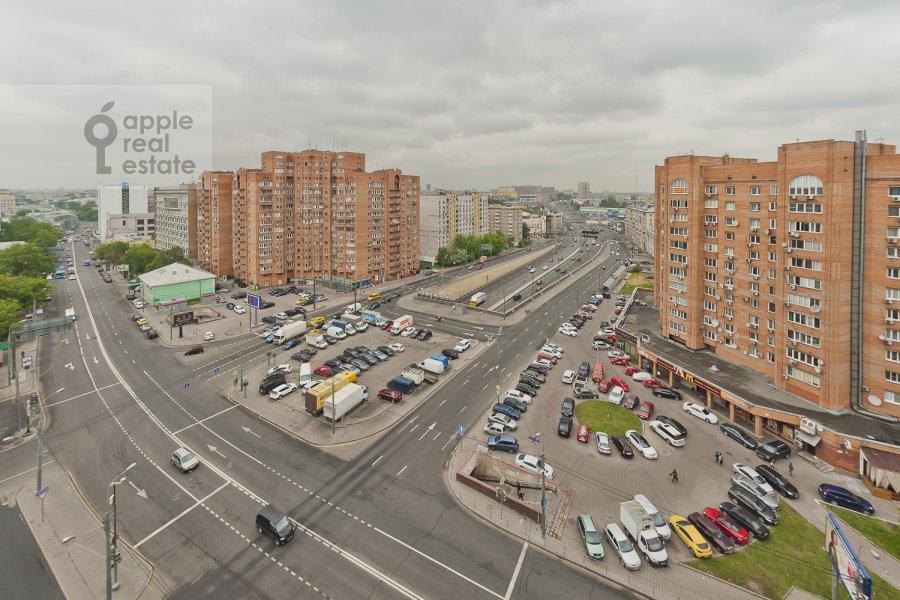 Вид из окна в 4-комнатной квартире по адресу Бакунинская ул. 26-30c1