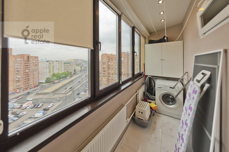 Балкон / Терраса / Лоджия в 4-комнатной квартире по адресу Бакунинская ул. 26-30c1