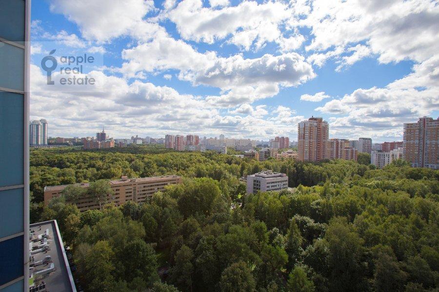 Вид из окна в 5-комнатной квартире по адресу Нежинская улица 1к1