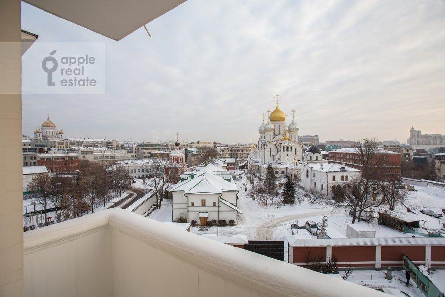Балкон / Терраса / Лоджия в 4-комнатной квартире по адресу Остоженка 25