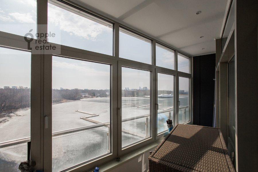 Вид из окна в 6-комнатной квартире по адресу Ленинградское шоссе 37к1