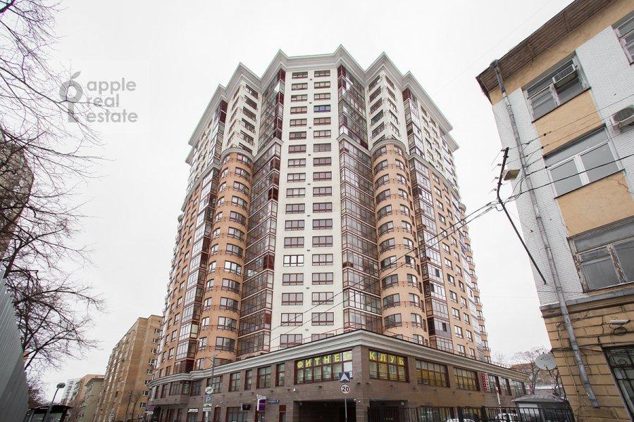 Photo of the house of the 5-room apartment at Bol'shoy Tishinskiy pereulok 10s1