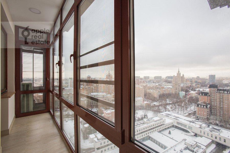 Balcony / Terrace / Loggia of the 5-room apartment at Bol'shoy Tishinskiy pereulok 10s1