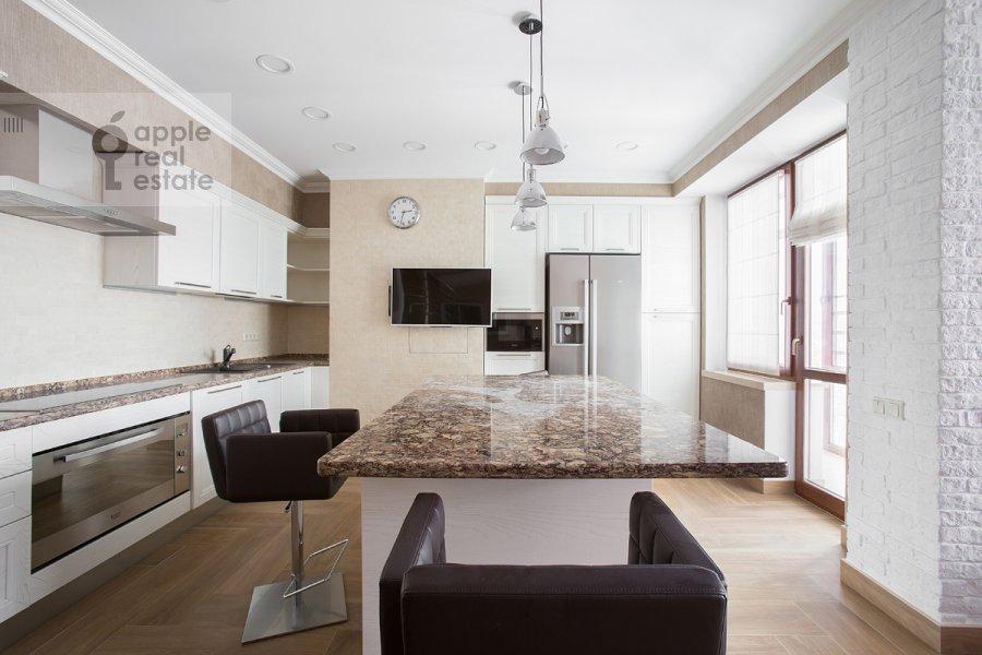 Kitchen of the 5-room apartment at Bol'shoy Tishinskiy pereulok 10s1