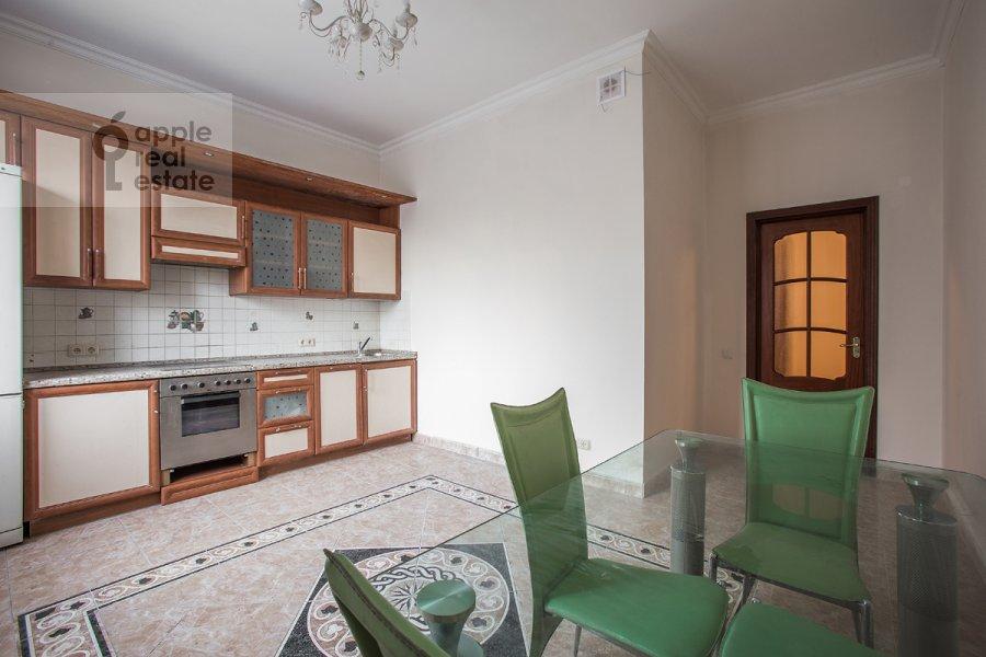 Kitchen of the 3-room apartment at Staryy Tolmachevskiy pereulok 3