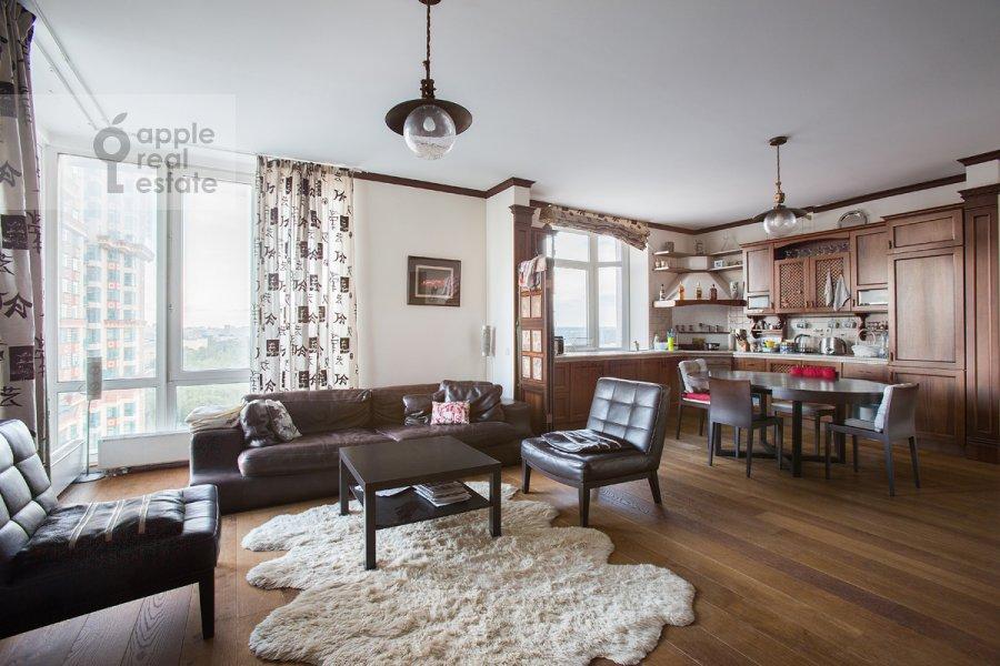 3-room apartment at Aviatsionnaya ul. 79k3