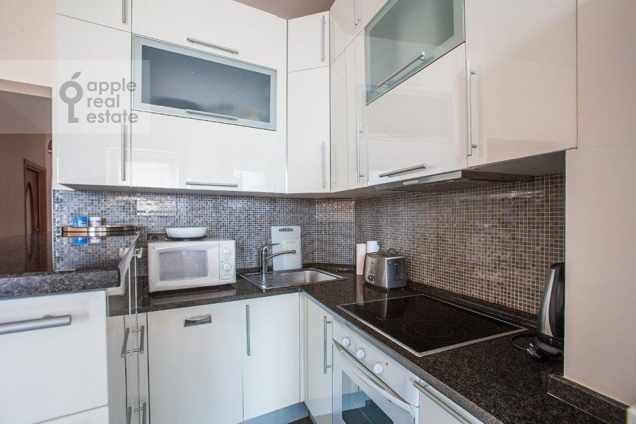 Kitchen of the 3-room apartment at Tverskaya ulitsa 27s2