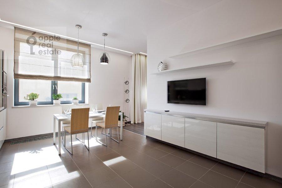 Kitchen of the 3-room apartment at Kazarmennyy per. 3