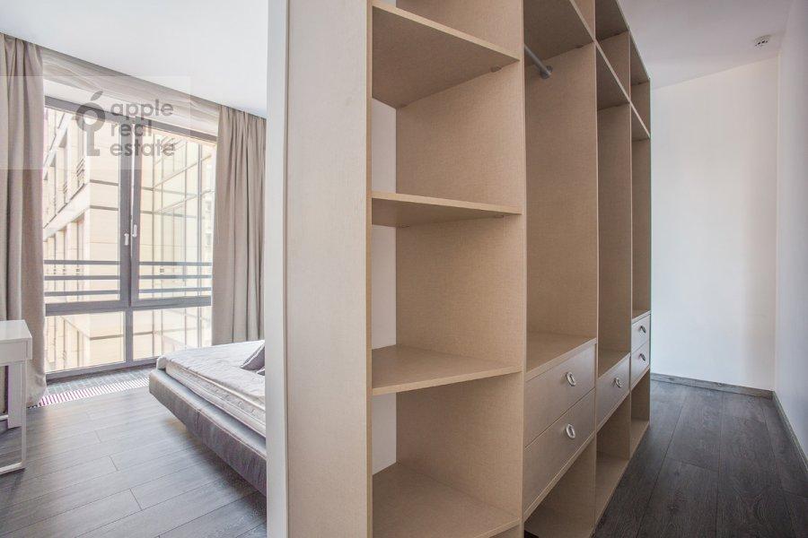 Bedroom of the 3-room apartment at Kazarmennyy per. 3