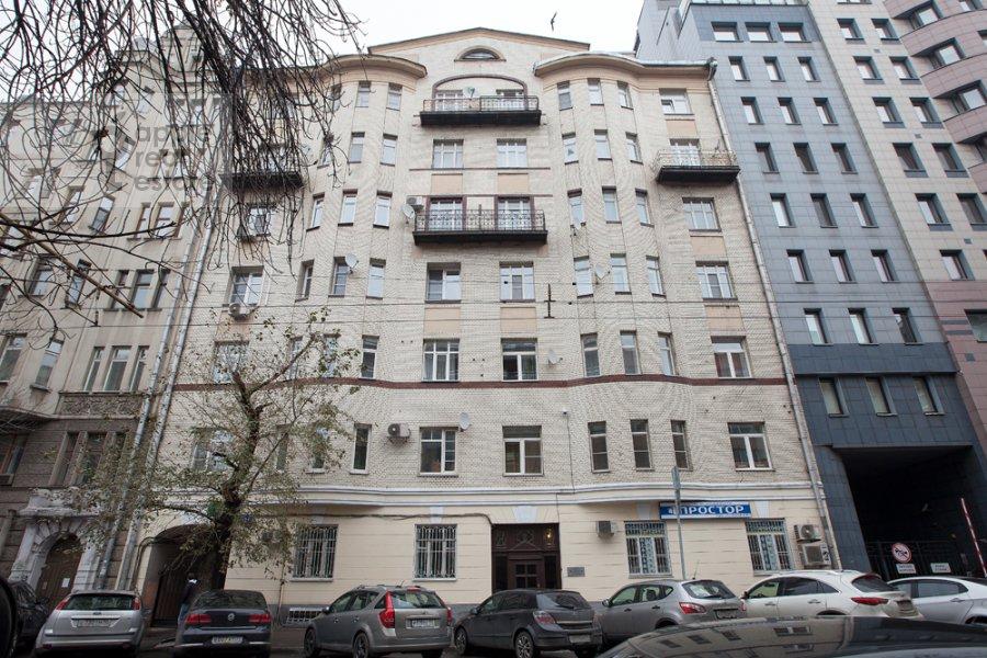 Photo of the house of the 3-room apartment at Tverskaya-Yamskaya 4-ya ul. 24