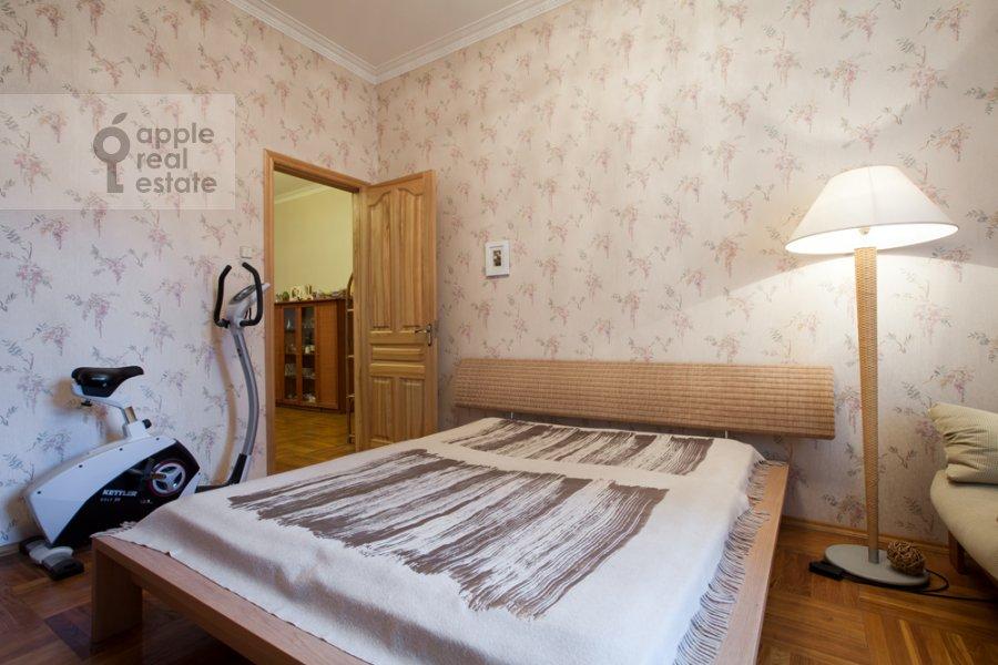 Bedroom of the 3-room apartment at Tverskaya-Yamskaya 4-ya ul. 24