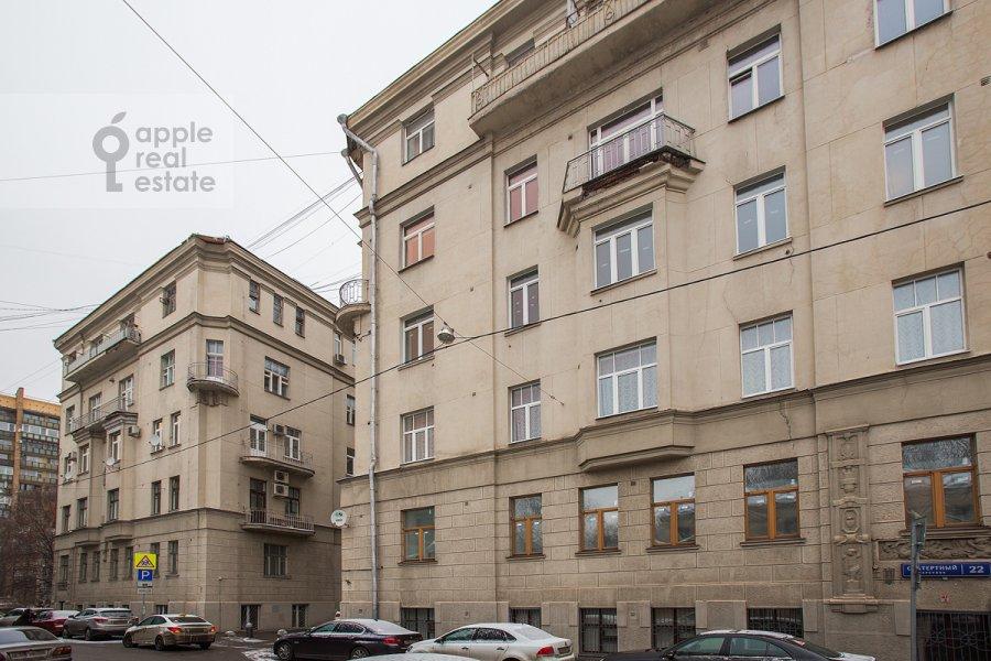 Фото дома 3-комнатной квартиры по адресу Скатертный пер. 22