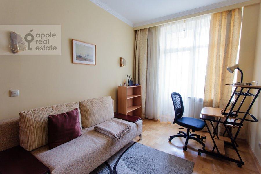 Спальня в 3-комнатной квартире по адресу Ленинградский проспект 76к2