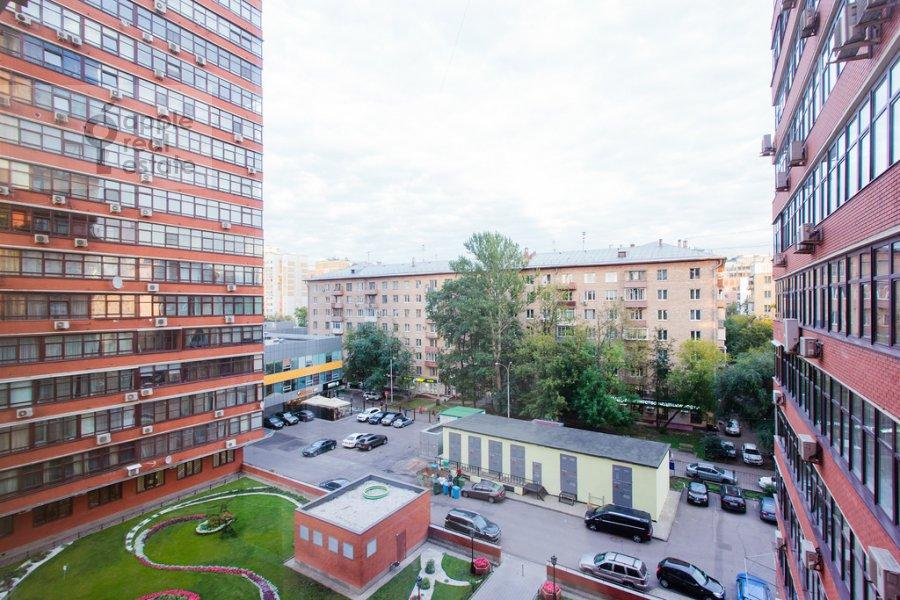 Вид из окна в 3-комнатной квартире по адресу Ленинградский проспект 76к2