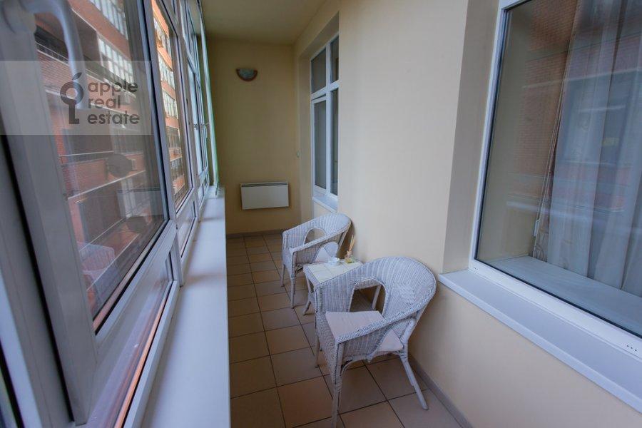 Балкон / Терраса / Лоджия в 3-комнатной квартире по адресу Ленинградский проспект 76к2