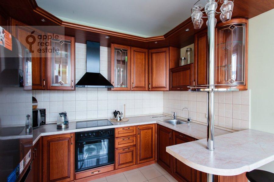 Кухня в 3-комнатной квартире по адресу Ленинградский проспект 76к2
