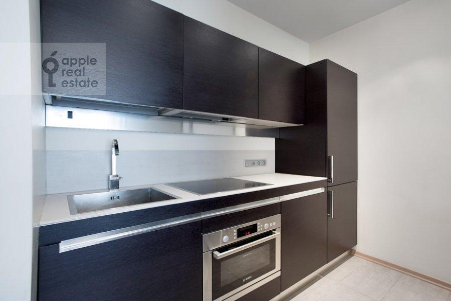 Kitchen of the 2-room apartment at Polyanka Malaya ul. 8