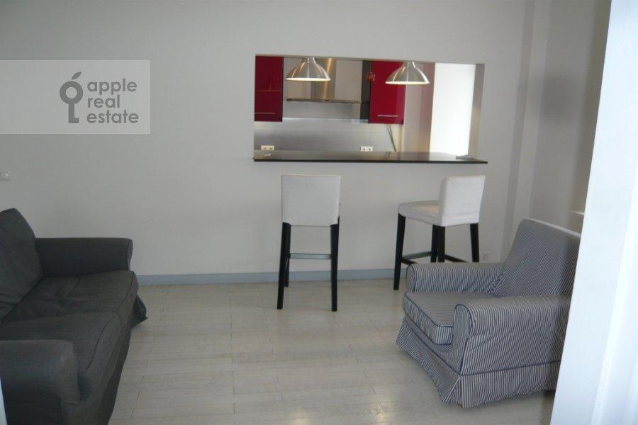 Гостиная в 3-комнатной квартире по адресу Карманицкий пер. 3c1