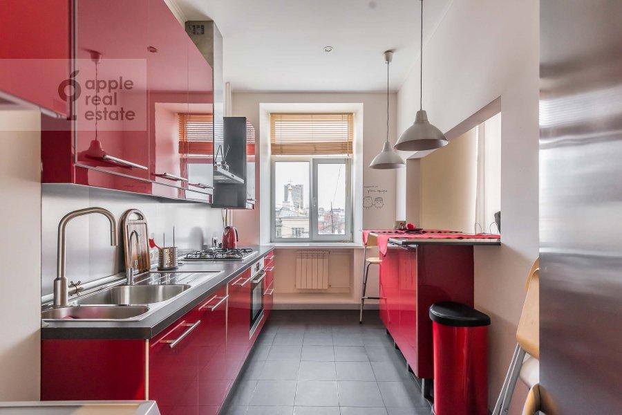 Кухня в 3-комнатной квартире по адресу Карманицкий пер. 3c1
