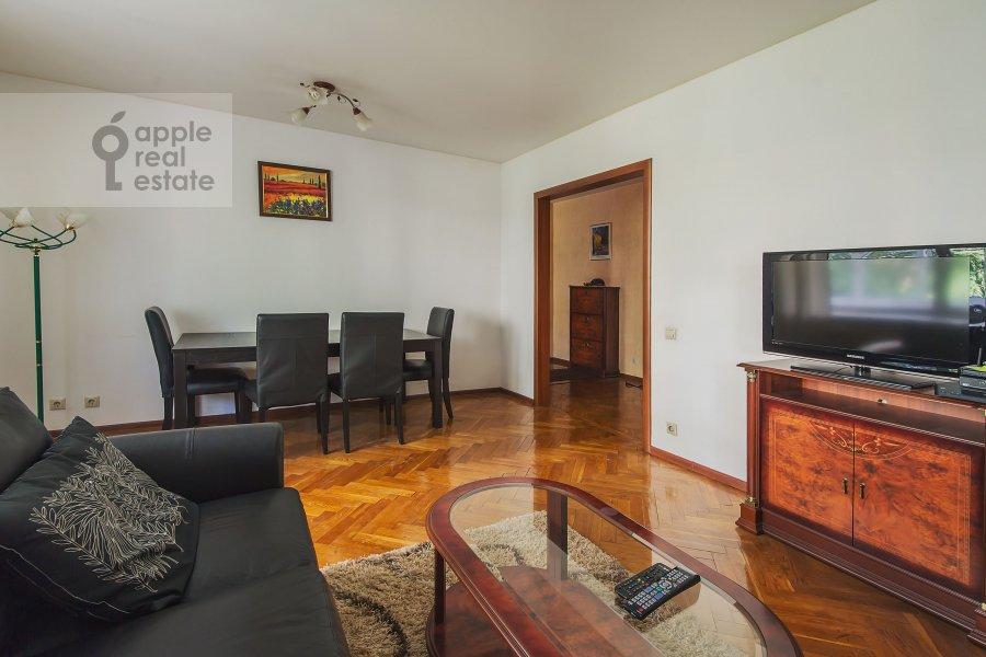 Living room of the 3-room apartment at Miusskaya 2-ya ul. 3/5