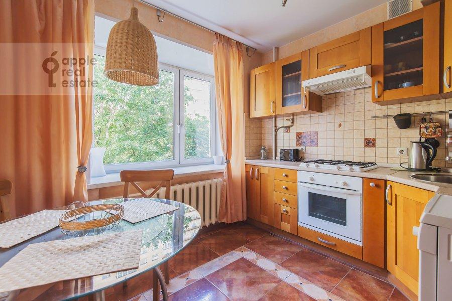 Kitchen of the 3-room apartment at Miusskaya 2-ya ul. 3/5