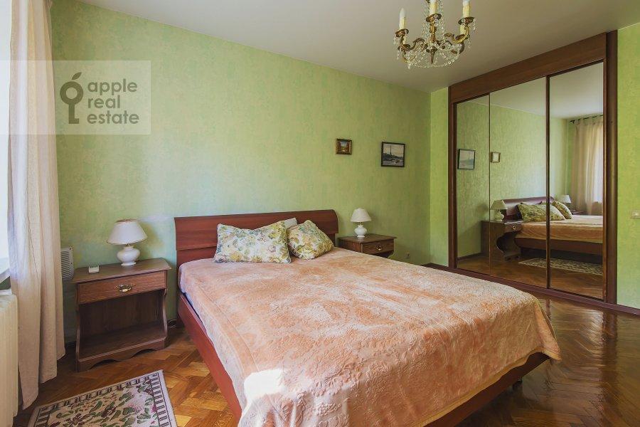Bedroom of the 3-room apartment at Miusskaya 2-ya ul. 3/5