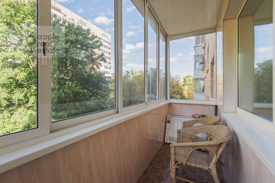 Balcony / Terrace / Loggia of the 3-room apartment at Miusskaya 2-ya ul. 3/5