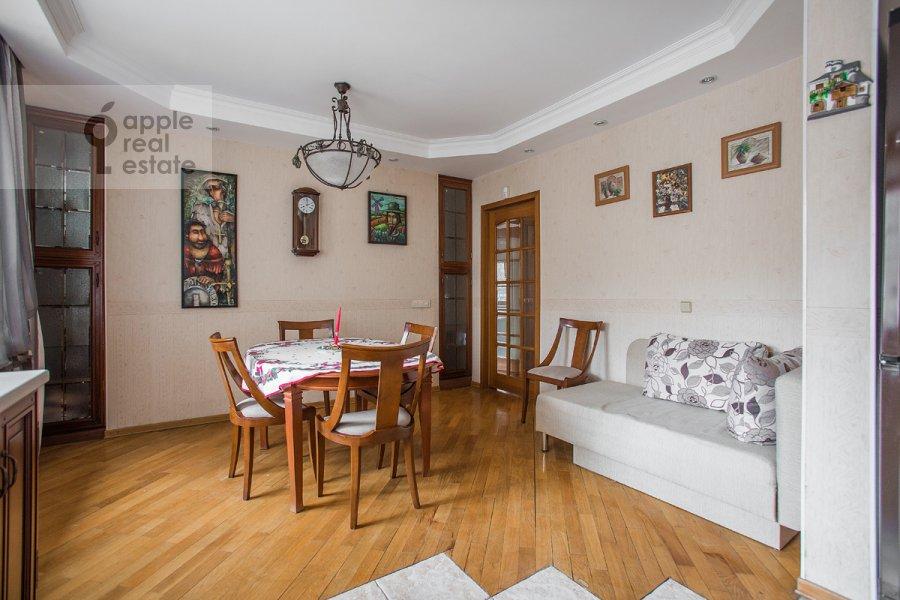 Kitchen of the 3-room apartment at Vlas'evskiy Malyy per. 3k1