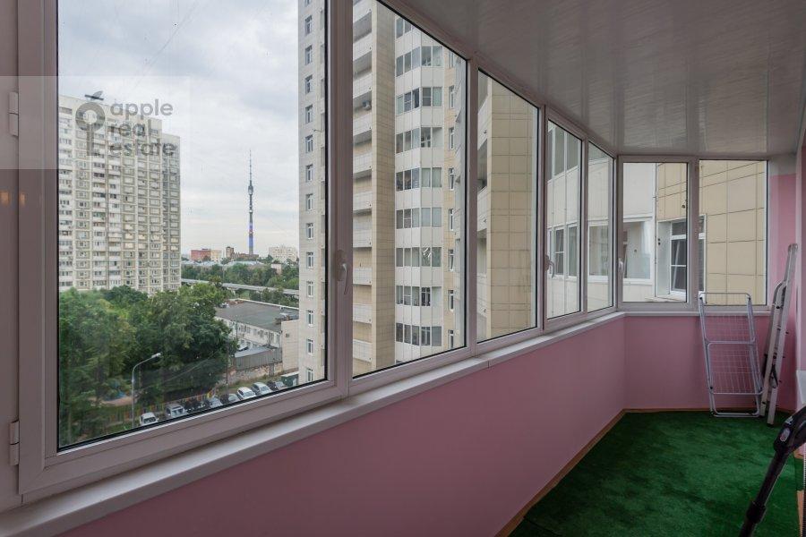 Balcony / Terrace / Loggia of the 3-room apartment at Yablochkova ul. 16