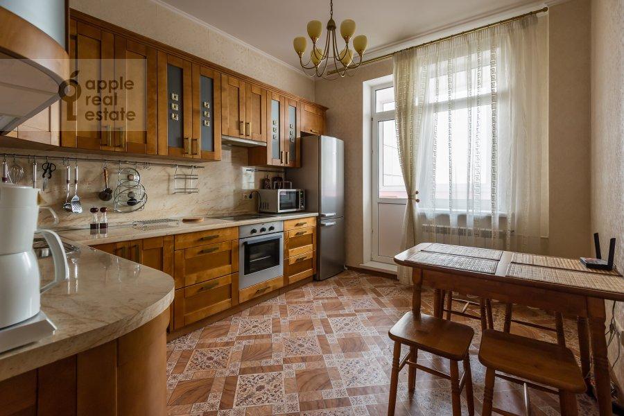 Kitchen of the 3-room apartment at Yablochkova ul. 16