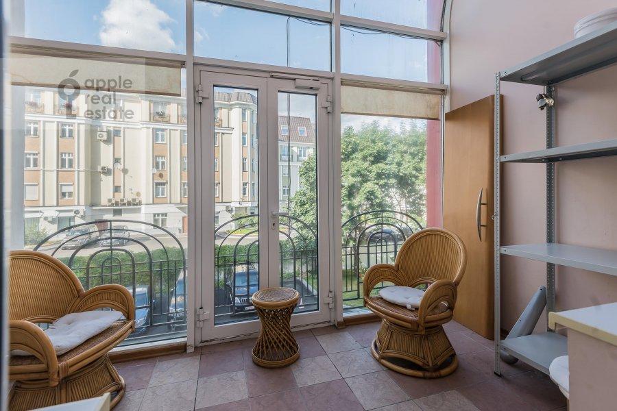 Балкон / Терраса / Лоджия в 6-комнатной квартире по адресу Петровский бульв. 23