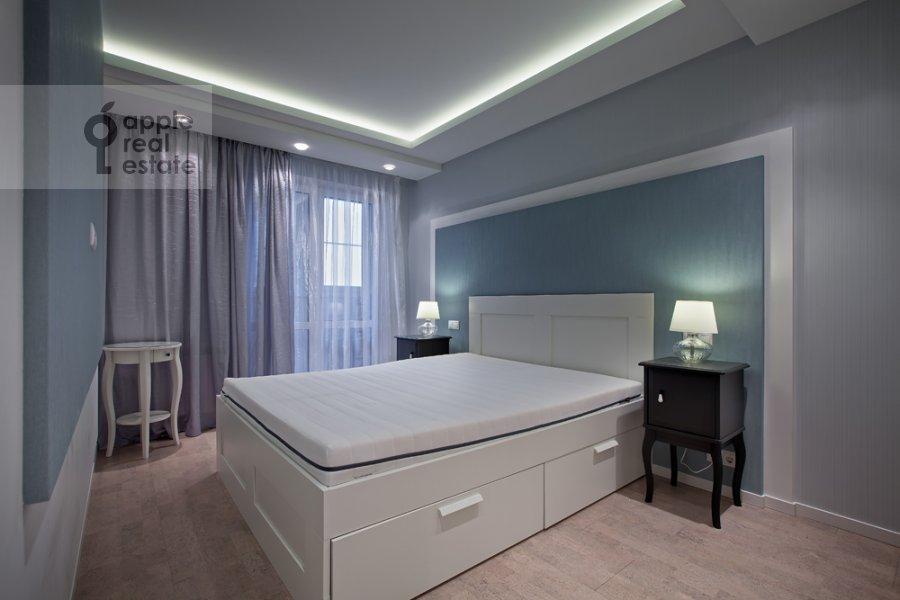 Спальня в 3-комнатной квартире по адресу Спасская Большая ул. 31