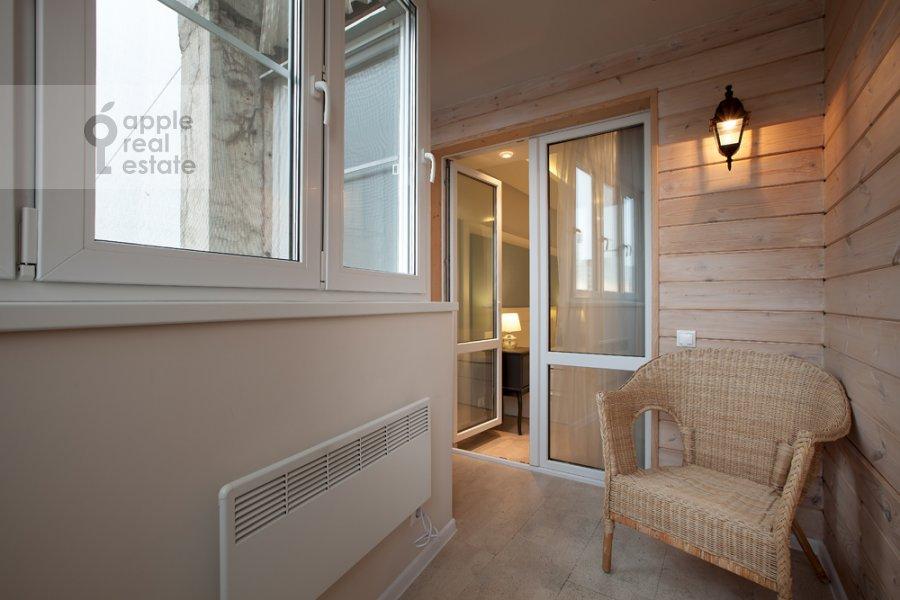 Balcony / Terrace / Loggia of the 3-room apartment at Spasskaya Bol'shaya ul. 31