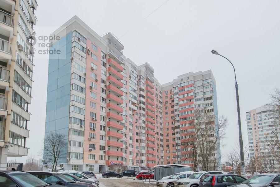Photo of the house of the 2-room apartment at Akademika Anokhina ul. 2k4