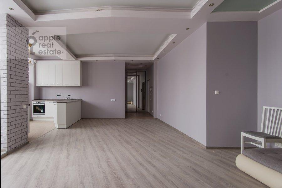 Living room of the 2-room apartment at Akademika Anokhina ul. 2k4