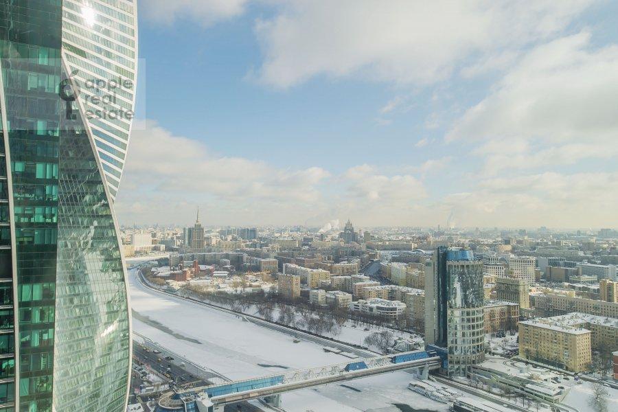 View from the window of the 3-room apartment at Presnenskaya naberezhnaya 8s1
