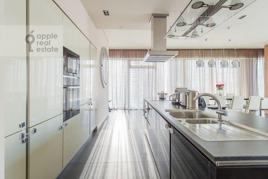 Kitchen of the 3-room apartment at Presnenskaya naberezhnaya 8s1