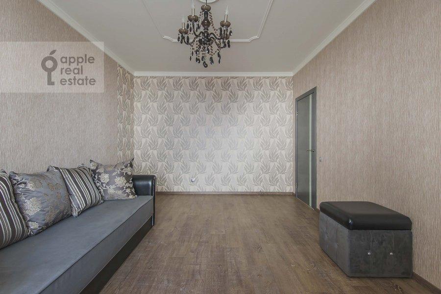 Bedroom of the 4-room apartment at 1-y Nagatinskiy pr. 11k2