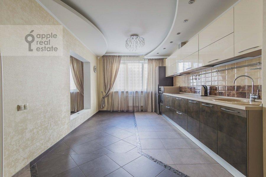 Kitchen of the 4-room apartment at 1-y Nagatinskiy pr. 11k2