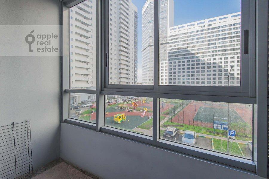 Balcony / Terrace / Loggia of the 4-room apartment at 1-y Nagatinskiy pr. 11k2