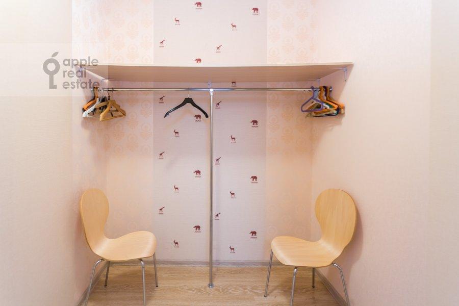 Walk-in closet / Laundry room / Storage room of the 4-room apartment at 1-y Nagatinskiy pr. 11k2