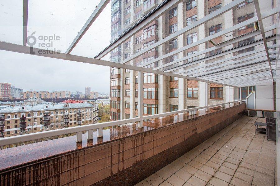 Балкон / Терраса / Лоджия в 3-комнатной квартире по адресу Чапаевский пер. 3