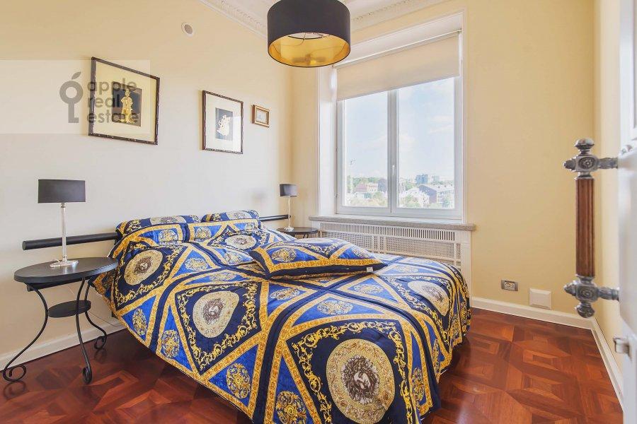 Bedroom of the 3-room apartment at Kotel'nicheskaya naberezhnaya 1/15