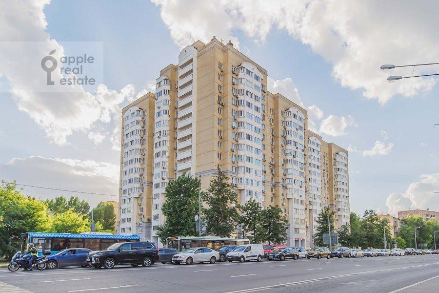 Photo of the house of the 1-room apartment at Velozavodskaya ul. 2k3